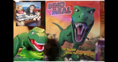 Game Night Buds 1 Dino Meal Unboxing and Review, Board Game party – [Media Fracas].